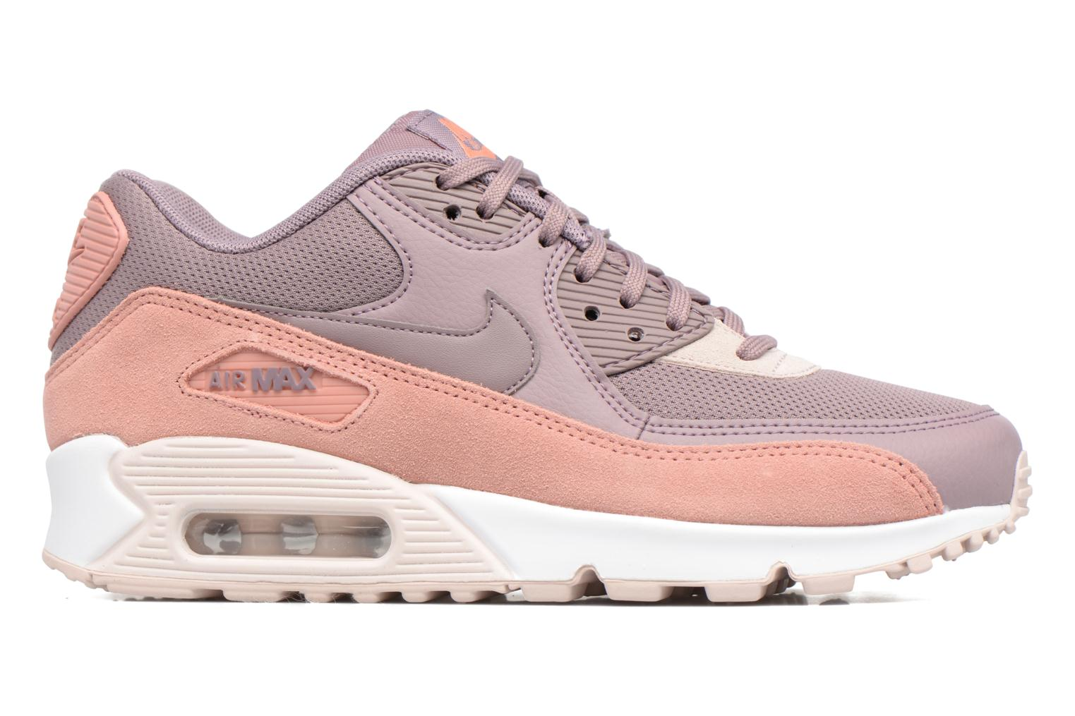 Wmns Air Max 90 Red Stardust/Taupe Grey-Silt Red-White